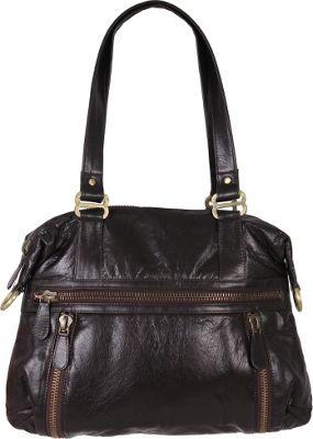 Latico Leathers Hazel Shoulder Bag Espresso - Latico Leathers Leather Handbags