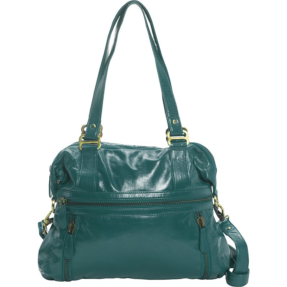 Latico Leathers Hazel Shoulder Bag Jade - Latico Leathers Leather Handbags - Handbags, Leather Handbags