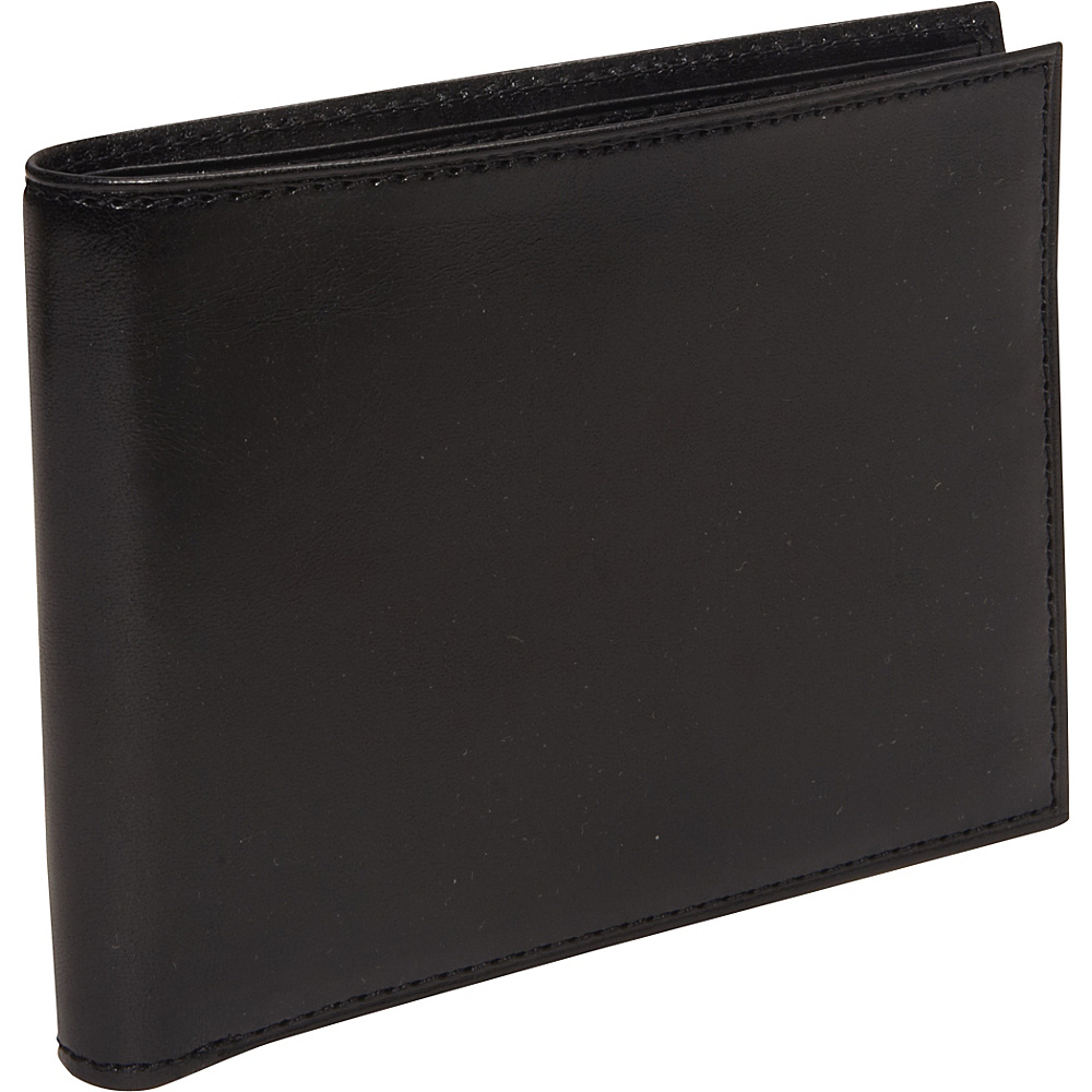 Bosca Old Leather 8 Pocket Executive Wallet - Black - Work Bags & Briefcases, Men's Wallets