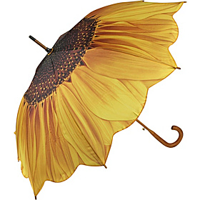 Sunflower Bloom Stick Umbrella Sunflower Bloom
