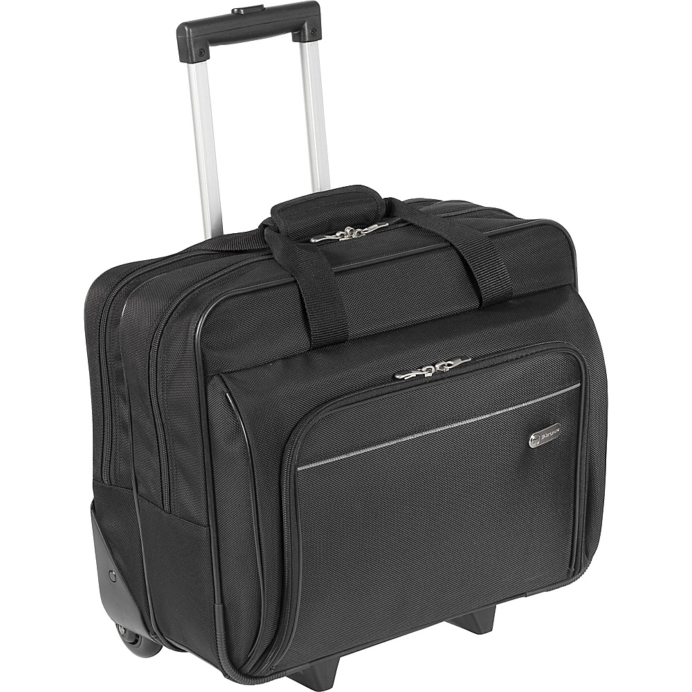 Targus 16 Rolling Laptop Case - Black - Work Bags & Briefcases, Wheeled Business Cases