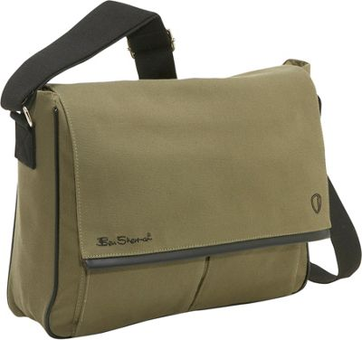 Ben Sherman Canvas Laptop Messenger