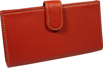 Mundi Rio Checkbook Cover - Red