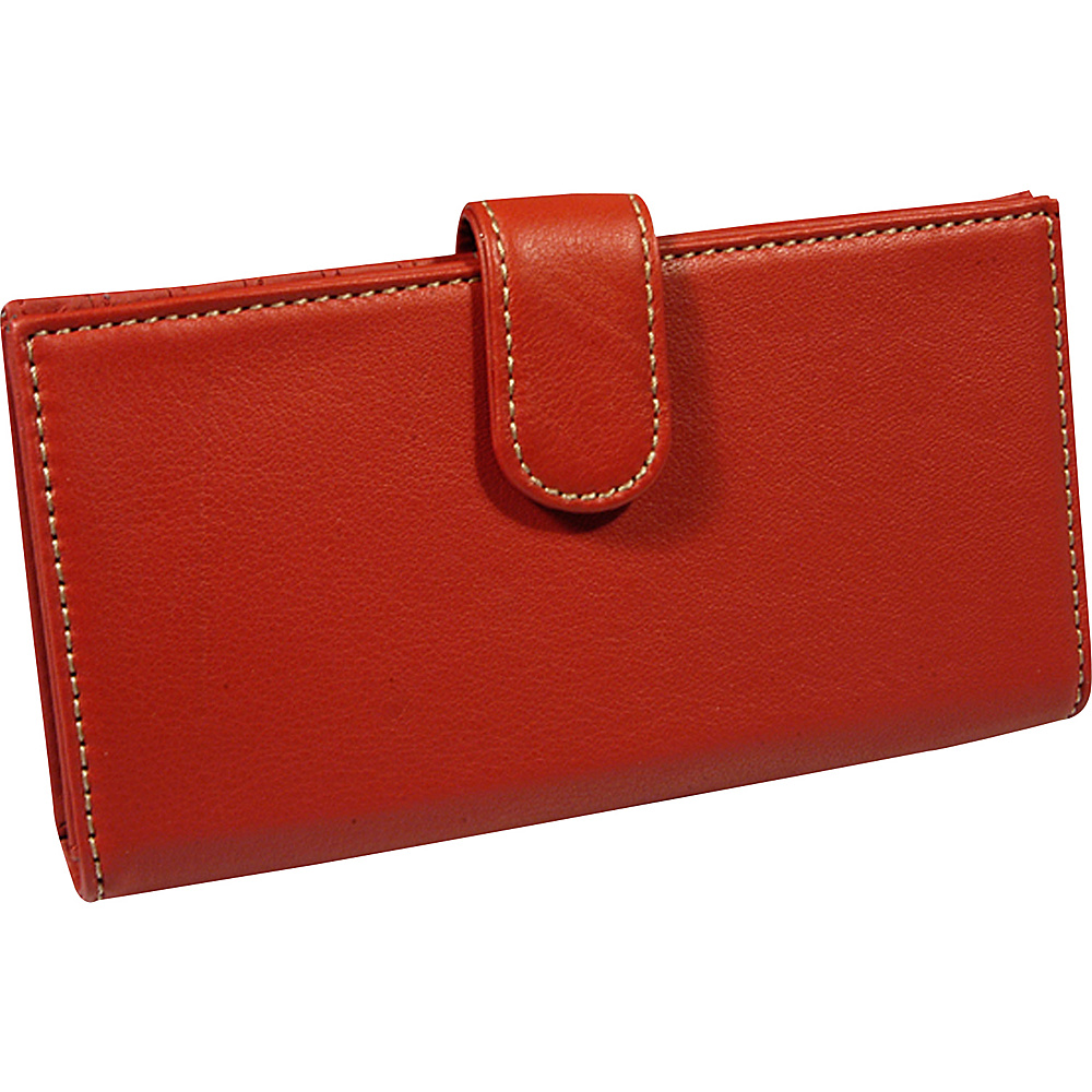 Mundi Rio Checkbook Cover Red
