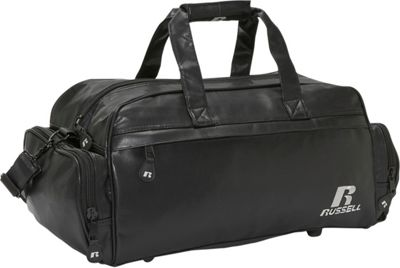 Russell Leatherette 21 inch Retro Duffle - Black