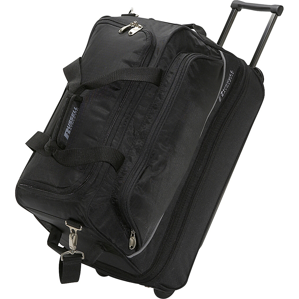 Russell Triple Play 21 Wheeling Duffle - Black - Luggage, Softside Carry-On
