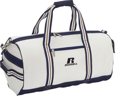 Russell Eco Friendly 22 inch Roll Bag - White/Blue