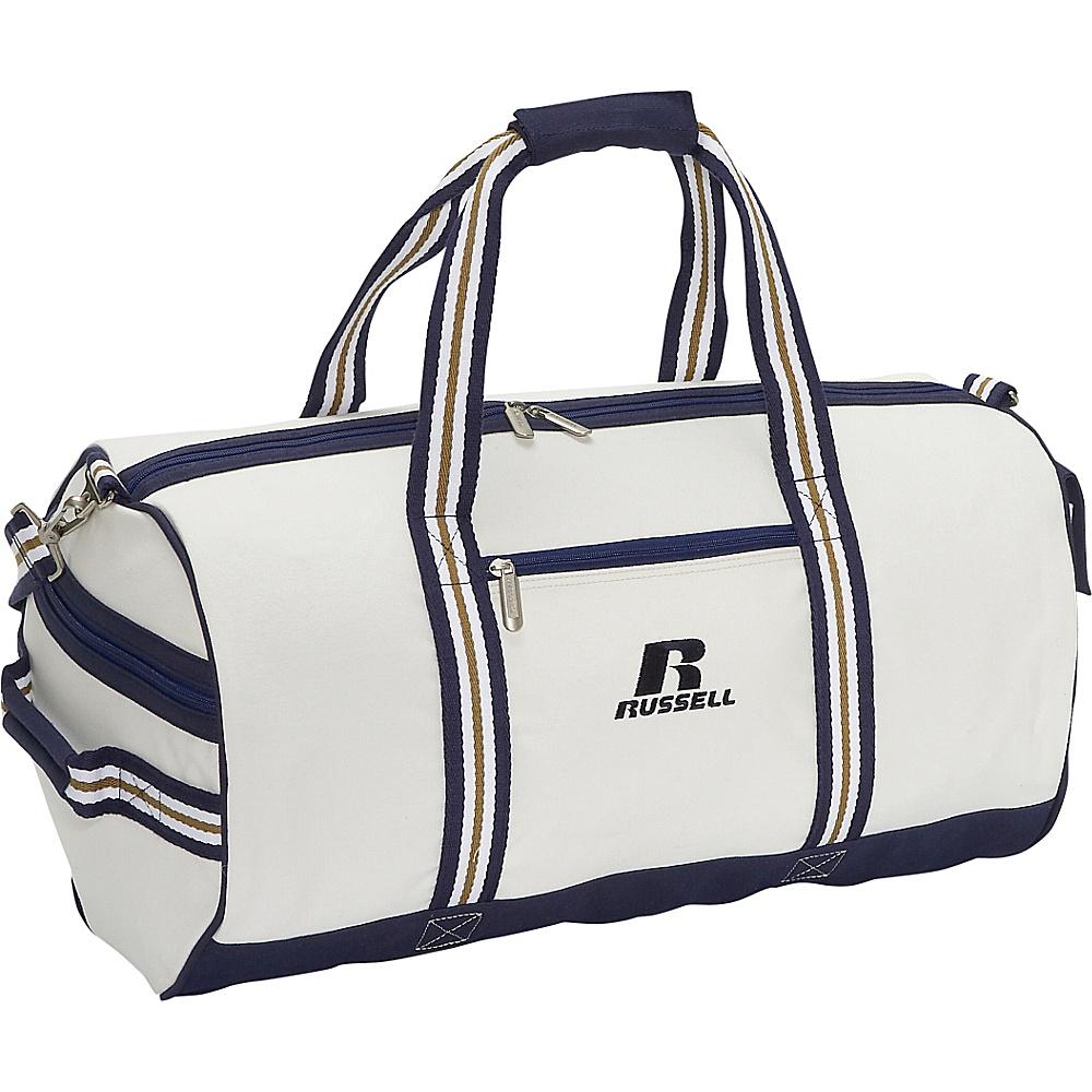 Russell Eco Friendly 22 Roll Bag - White/Blue - Duffels, Gym Duffels