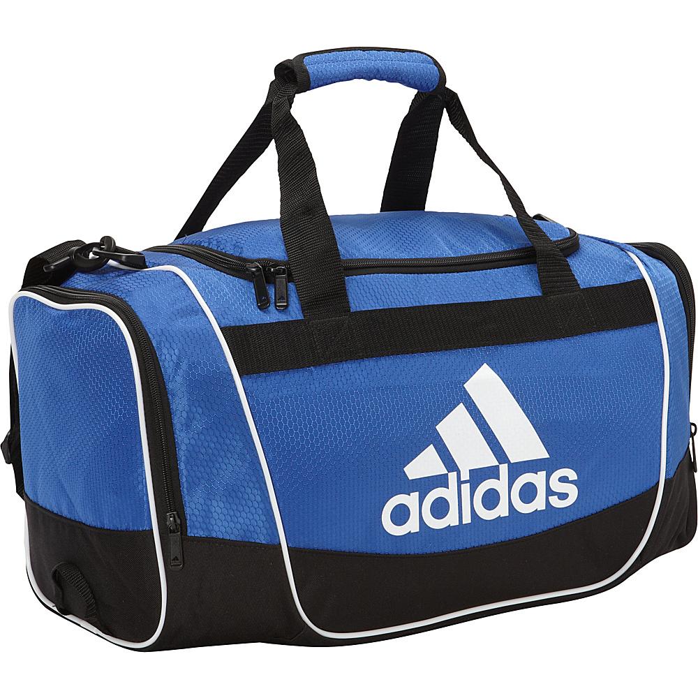 adidas Defender Duffel II Small Bold Blue adidas Gym Duffels
