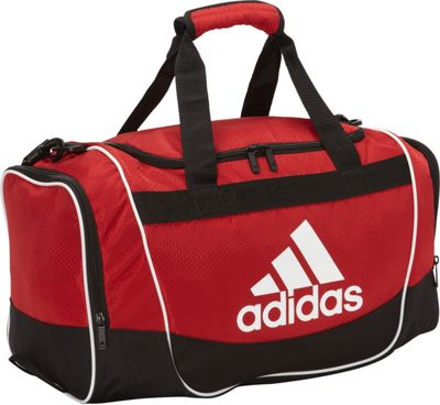 adidas Defender Duffel II - Small University Red - adidas All Purpose Duffels