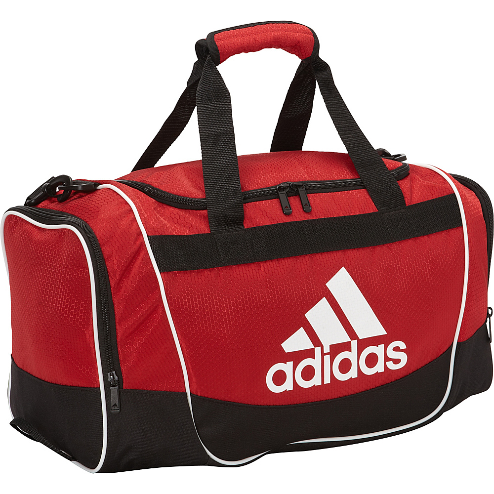 117271568d UPC 716106731532 product image for adidas Defender Duffel Small University  Red - adidas All Purpose Duffels ...