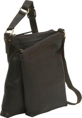 Derek Alexander Medium Top Zip Handbag - Brown