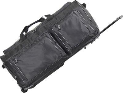 Netpack 30 inch Max Load Ballistic Wheeled Duffel - Black