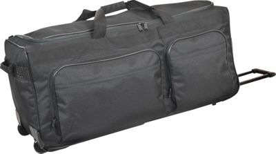 Netpack 40 inch Travel Light II Wheeled Duffel - Black