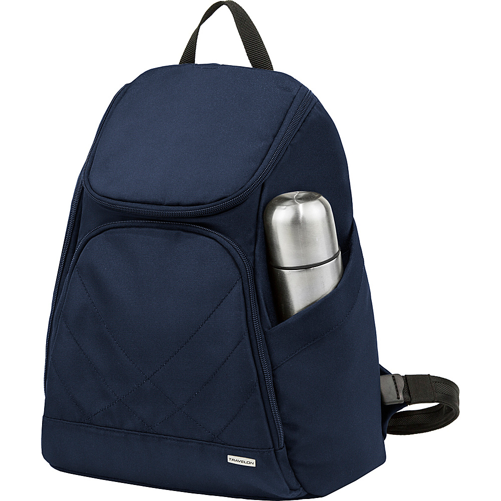 Travelon Anti-Theft Classic Backpack - Exclusive Colors Midnight - Travelon Everyday Backpacks - Backpacks, Everyday Backpacks