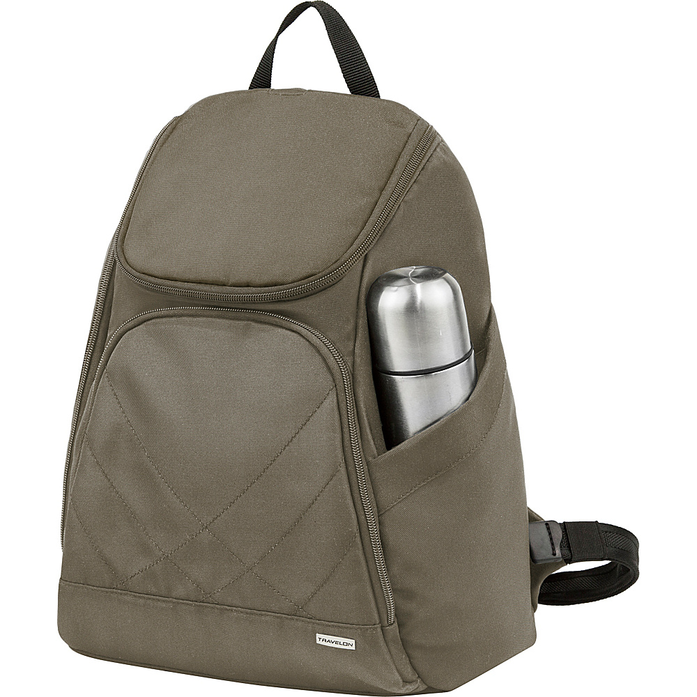 Travelon Anti-Theft Classic Backpack - Exclusive Colors Nutmeg - Travelon Everyday Backpacks - Backpacks, Everyday Backpacks