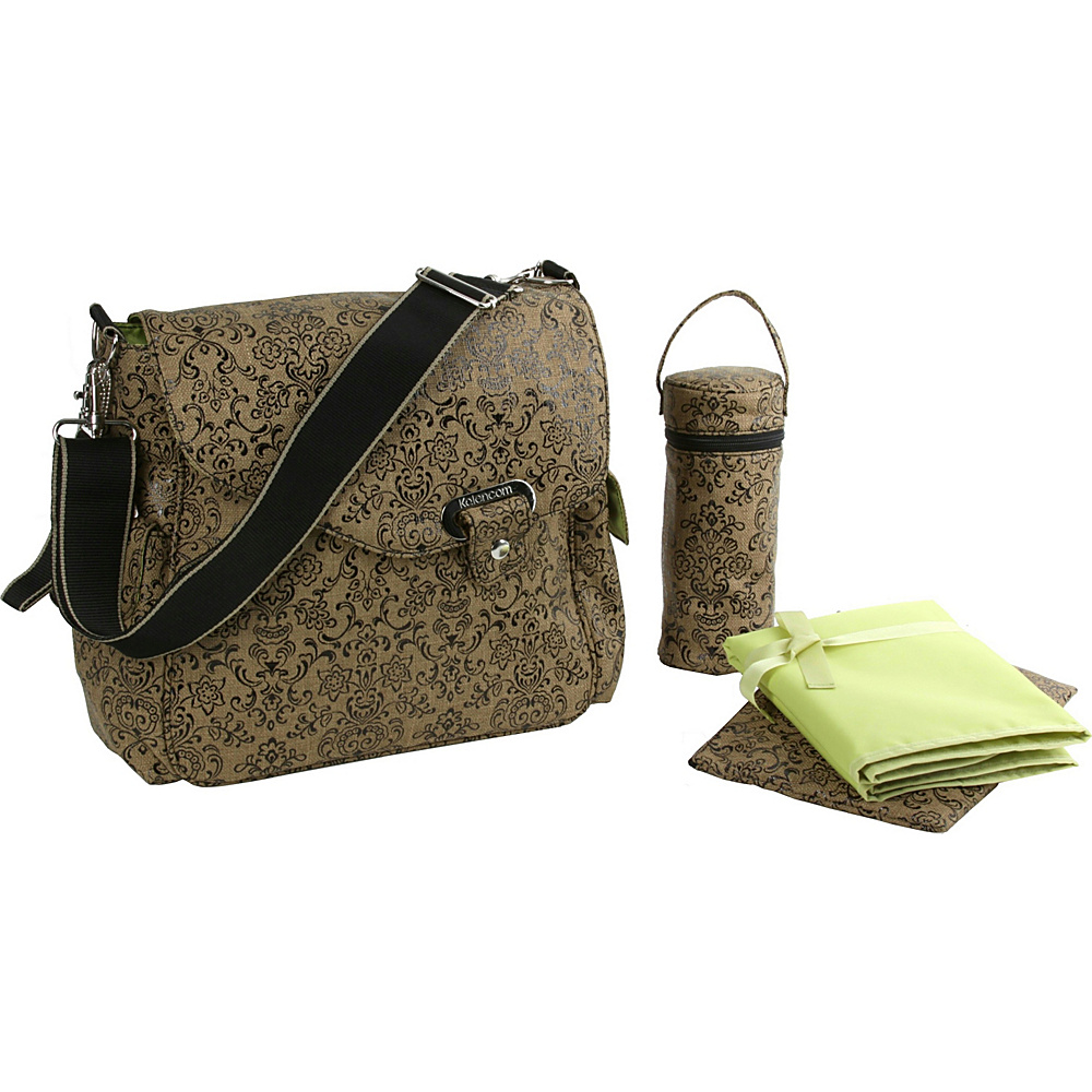 Kalencom Ozz Water Repellant - Dainty Coffee - Handbags, Diaper Bags & Accessories