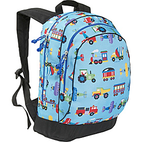 Olive Kids Trains Planes & Trucks Sidekick Backpack Trains Planes Trucks