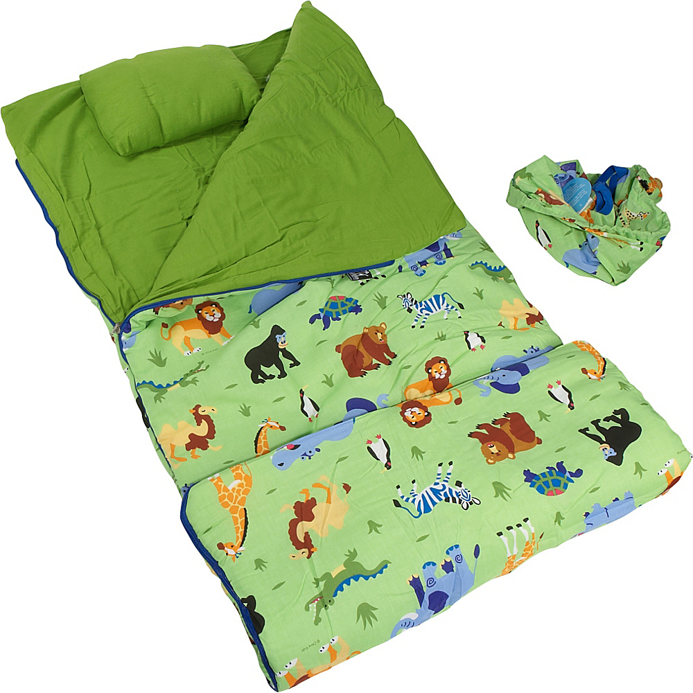 Wildkin Wild Animals Sleeping Bag - Wild Animals - Travel Accessories, Travel Pillows & Blankets