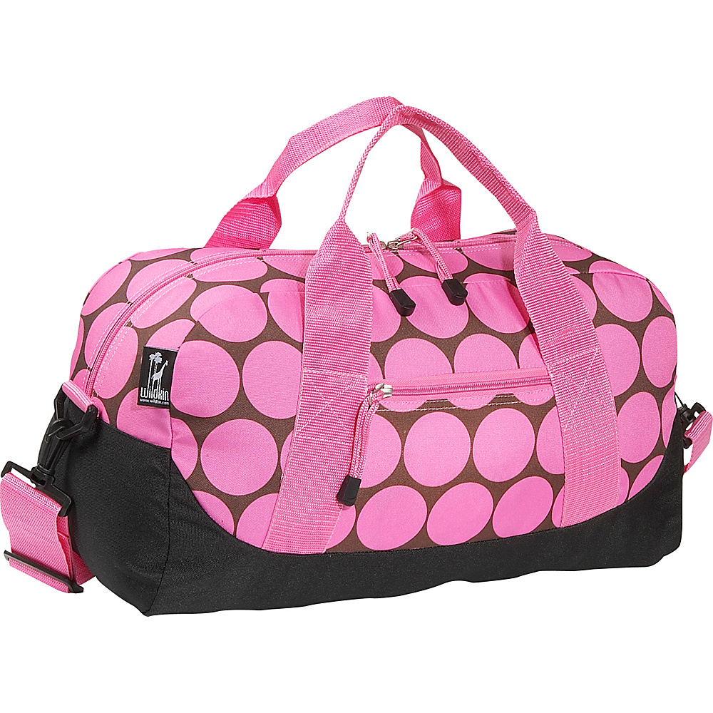 Wildkin Big Dots Pink Duffel Bag Big Dots Pink