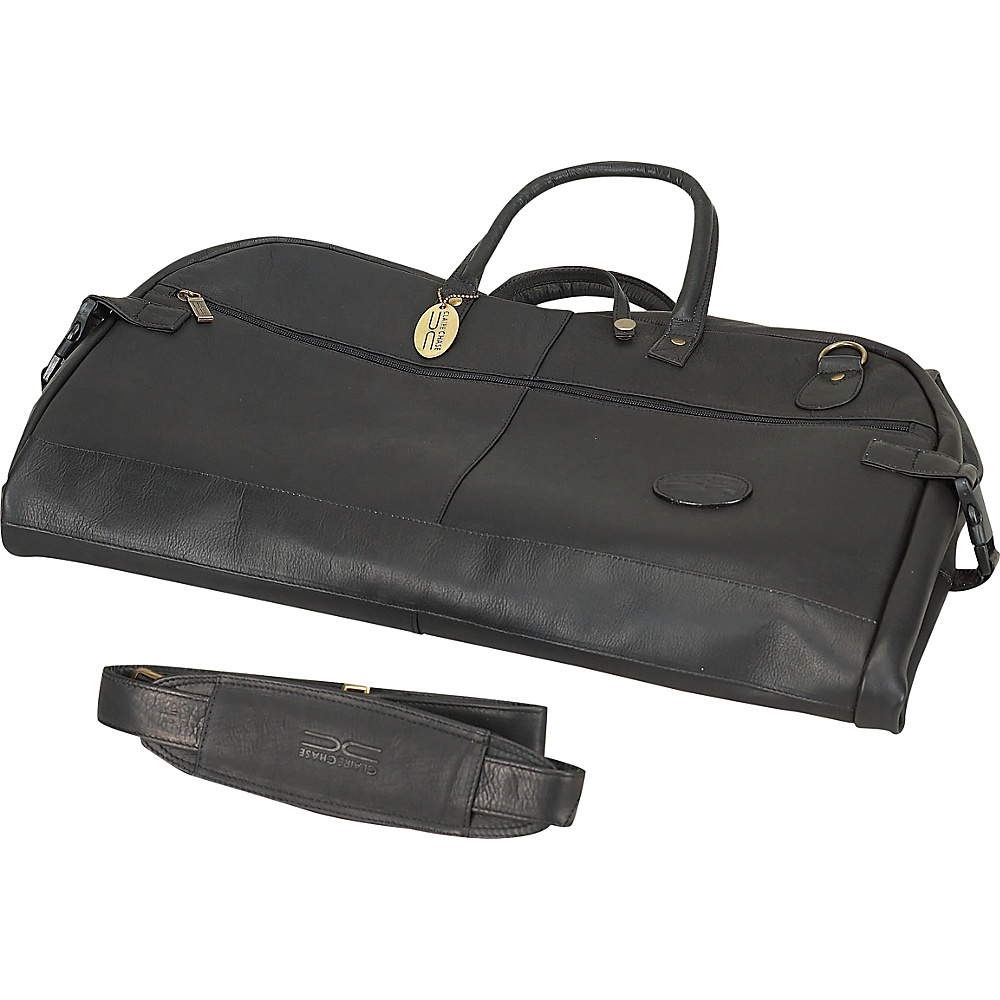 ClaireChase Tri-fold Garment Sleeve - Black - Luggage, Garment Bags