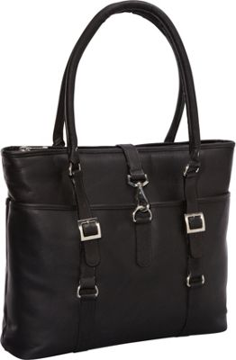 ClaireChase Ladies' Computer Bag - Black