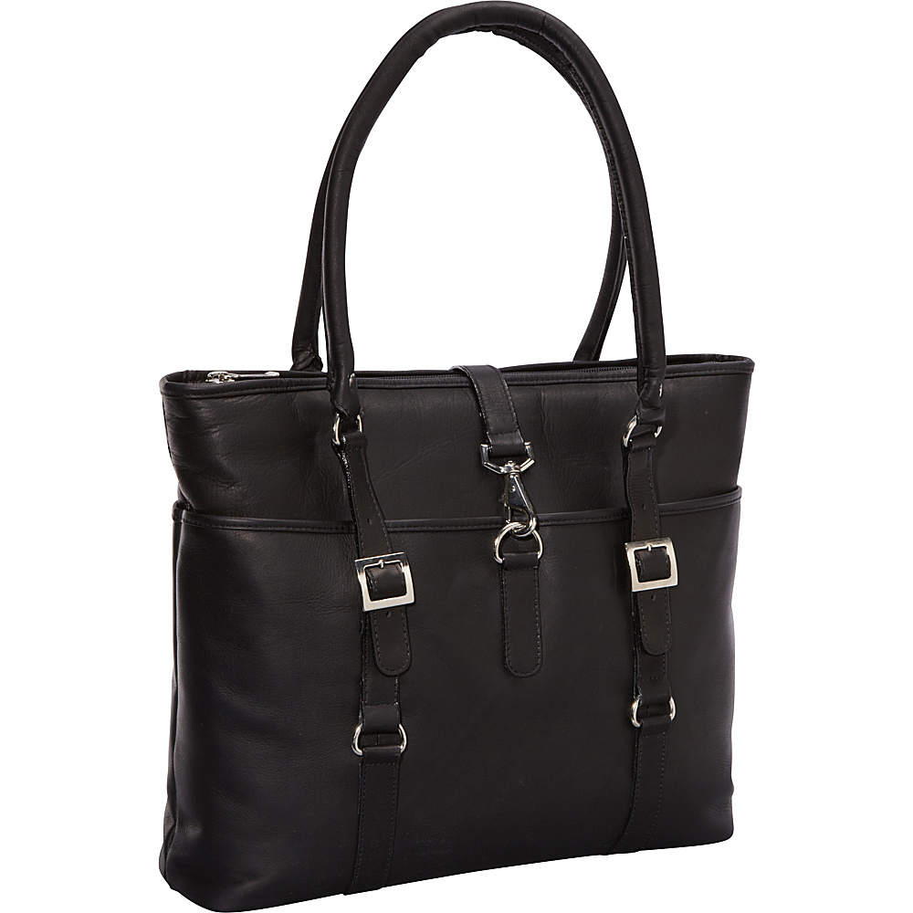 ClaireChase Ladies Computer Bag - Black - Work Bags & Briefcases, Women's Business Bags