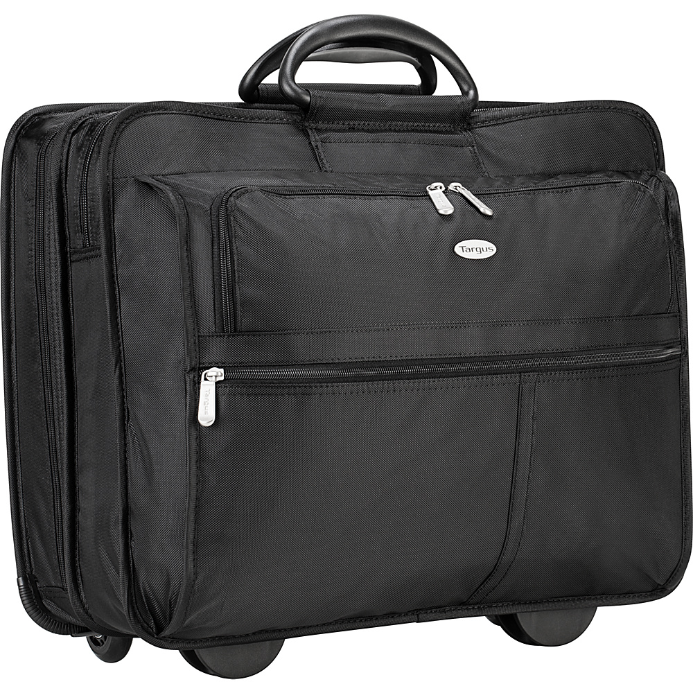 Targus 17 Rolling Travel Laptop Case - Black - Work Bags & Briefcases, Wheeled Business Cases