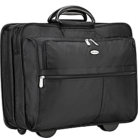 17'' Rolling Travel Laptop Case Black