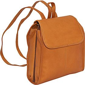Womens 3 Compartment Back Pack Tan