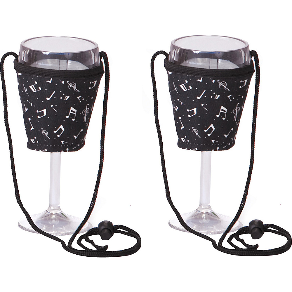 Picnic Plus Wine Glass Lanyard Set of 2 Allegro