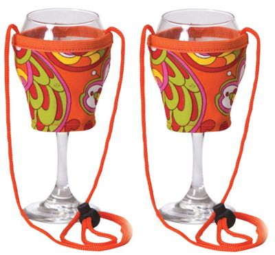 Picnic Plus Wine Glass Lanyard Set of 2