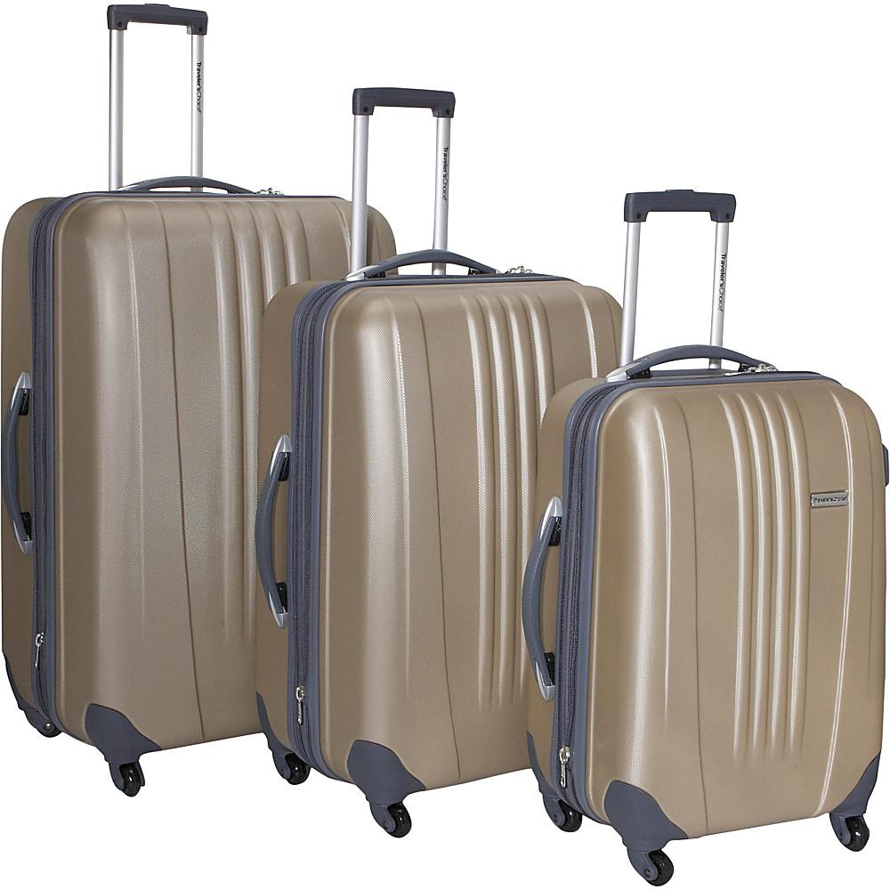 Travelers Choice Toronto 3-Piece Hardside Spinner - Luggage, Luggage Sets