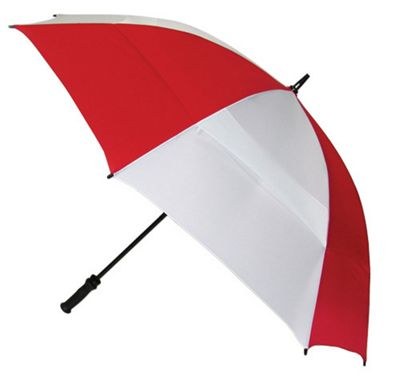 ShedRain ShedRain Windjammer Umbrella - White/Red