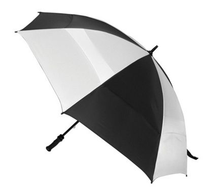 ShedRain Windjammer Umbrella - White/Black
