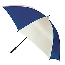 Windjammer Umbrella - Alternating Panels White/Navy