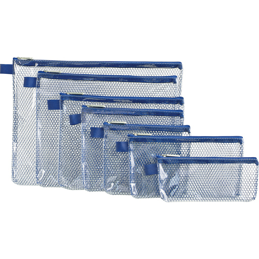 Travelon Set of 7 Packing Envelopes Blue - Travelon Travel Organizers - Travel Accessories, Travel Organizers