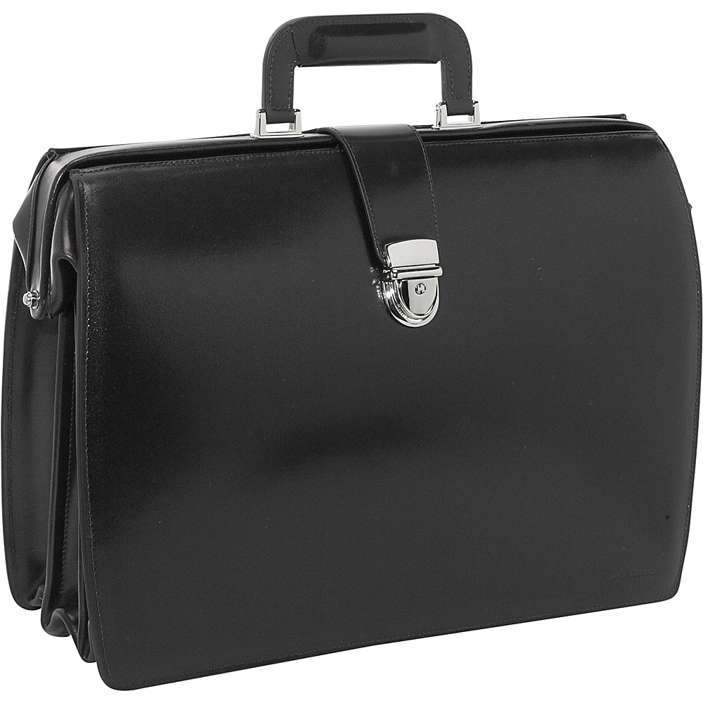 Jack Georges Elements Collection Classic Leather Laptop - Work Bags & Briefcases, Non-Wheeled Business Cases