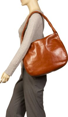 Derek Alexander Yukon Leather Hobo Shoulder Bag 15
