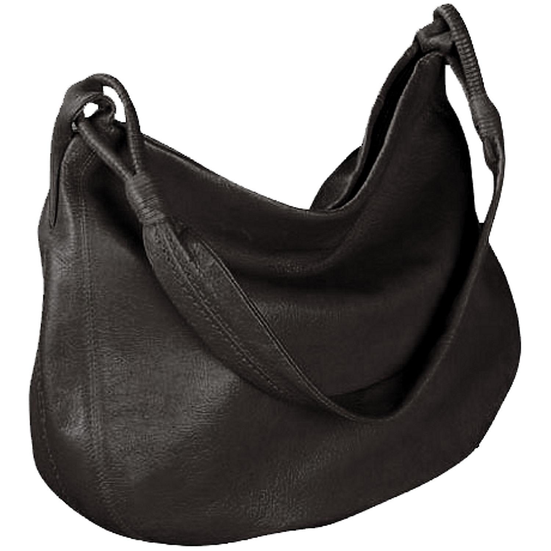 Derek Alexander Yukon Leather Hobo Shoulder Bag – Shoulder Travel Bag