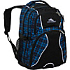 High Sierra Swerve Laptop Backpack - Ska Plaid, Black