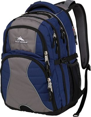 Details about High Sierra Swerve Laptop Backpack 16 Colors