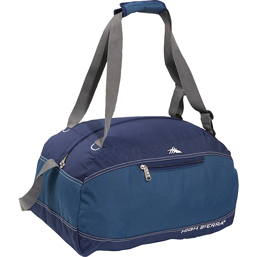 High Sierra Pack-N-Go 20 Duffel - BlueVelvet/Pacific - Duffels, Outdoor Duffels