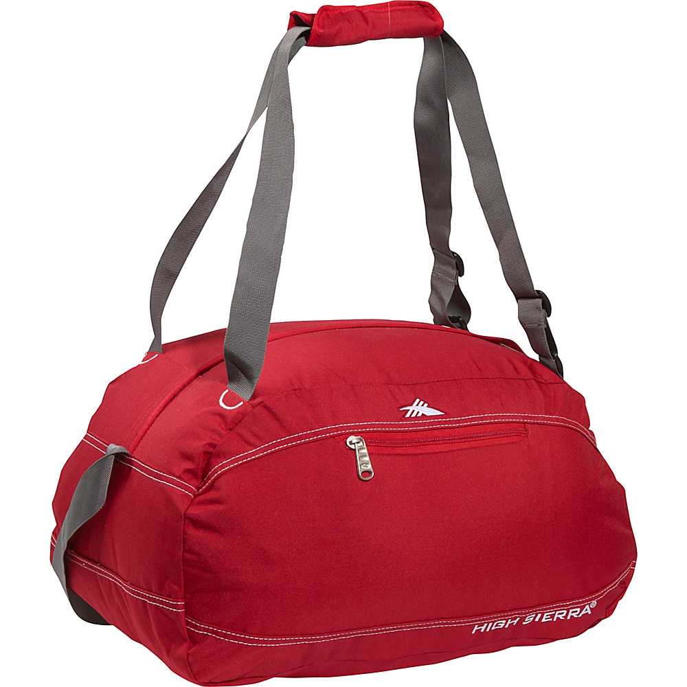 High Sierra Pack N Go 20 Duffel CarmineRed