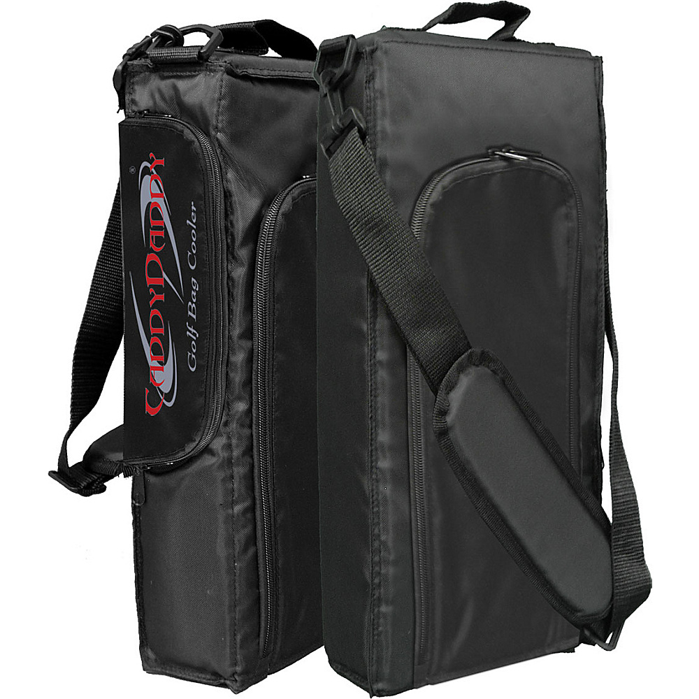 Caddy Daddy Golf 6 Pack Golf Bag Cooler Black