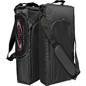 6 Pack Golf Bag Cooler Black