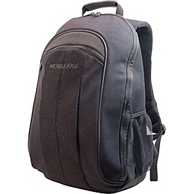 ECO Friendly Canvas Backpack - 17.3''  Black