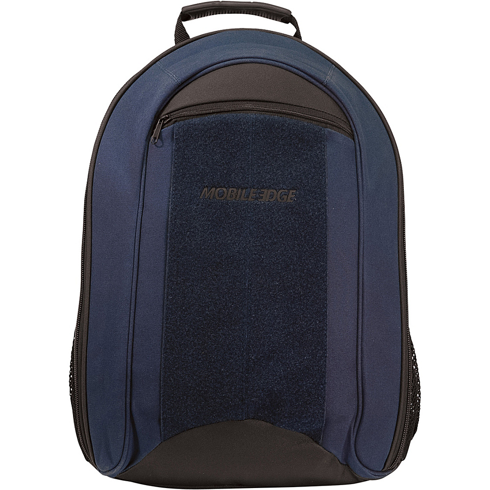 Mobile Edge ECO Friendly Canvas Backpack 17.3 Navy Mobile Edge Business Laptop Backpacks