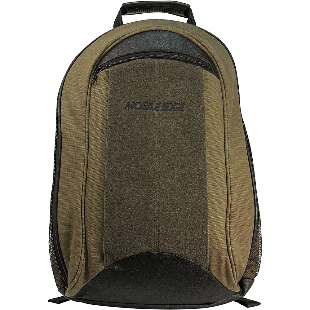 Mobile Edge Eco-Friendly Canvas Backpack - 17.3 - Backpacks, Business & Laptop Backpacks