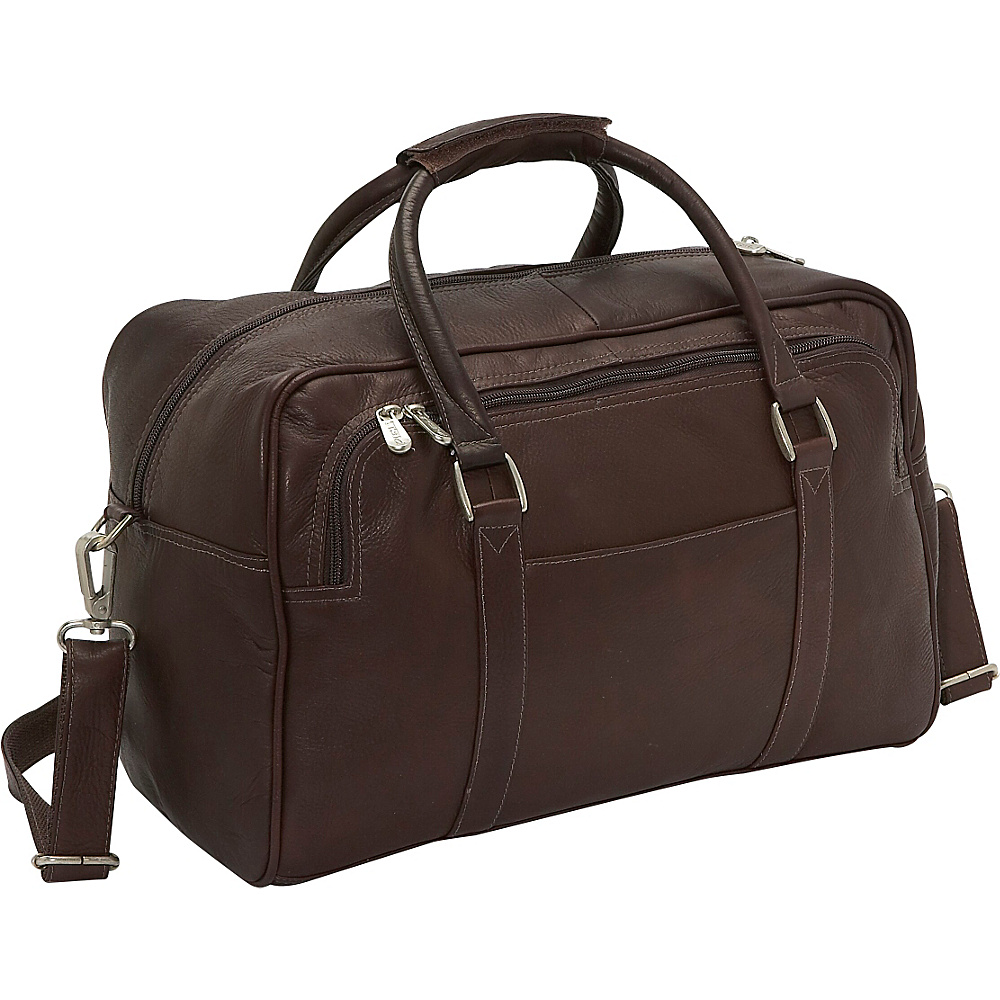 Piel Mini Carry-On Chocolate - Piel Travel Duffels - Duffels, Travel Duffels